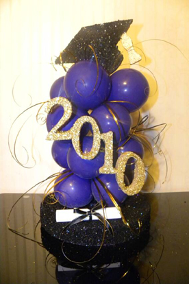 Balloon ideas for graduation party ideas car interior design for Balloon decoration graduation