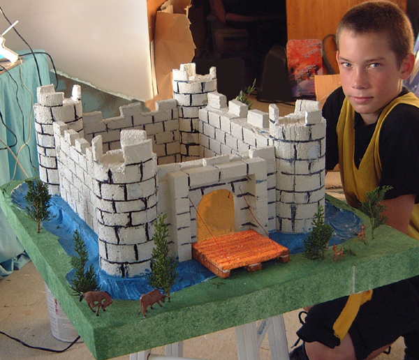 School Castle Model Project