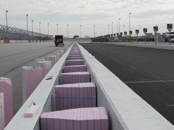SAFER Barrier Racetrack Wall