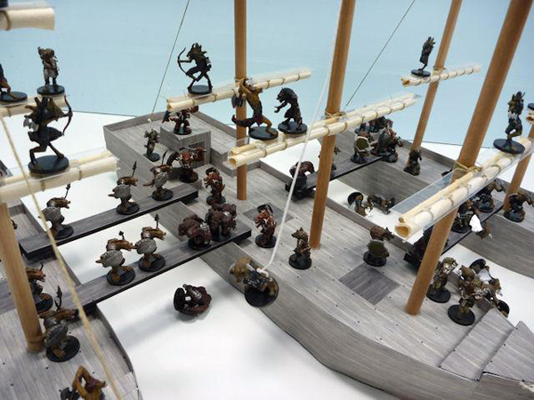 Foam Gaming D&D Sailing Ships