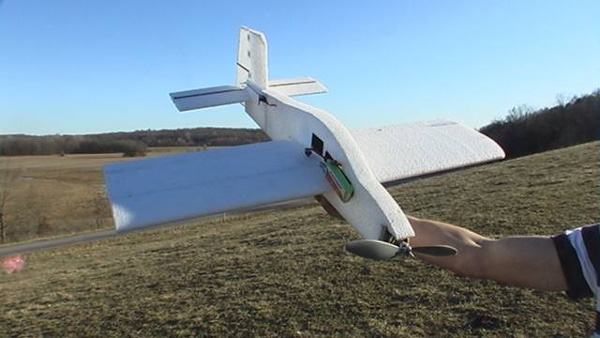 Foam RC Model Airplane