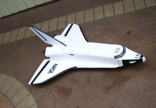 Foam RC Space Shuttle