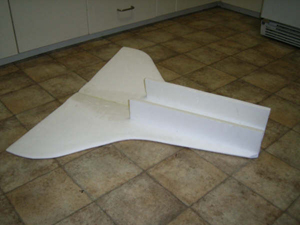Foam Board RC Space Shuttle - Pics about space