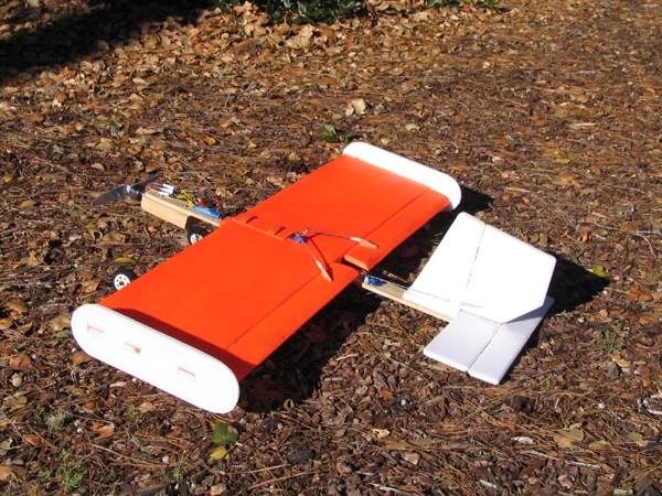 foam RC remote plane