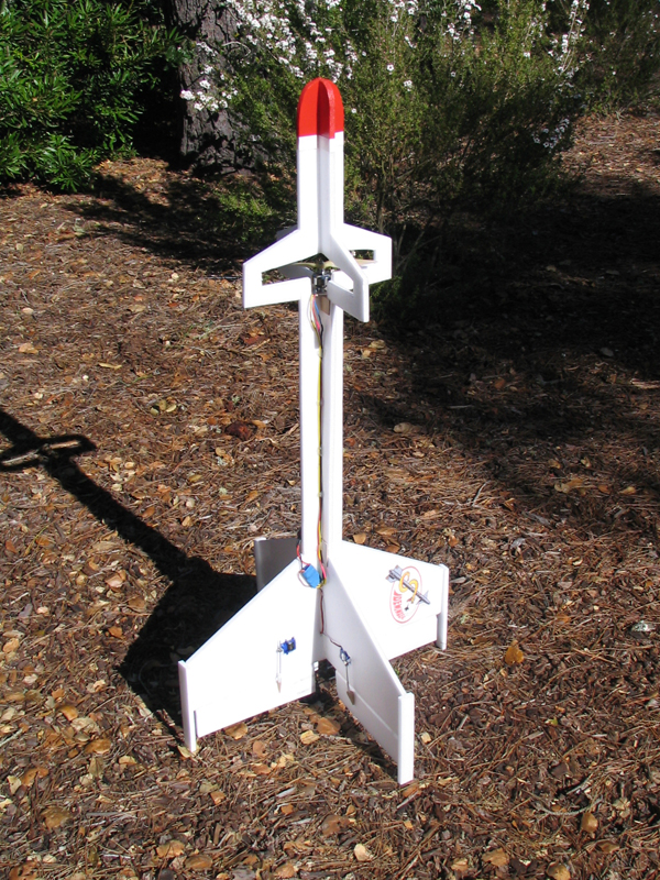 foam rc rocket