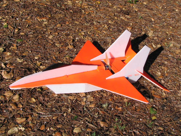 foam rc jet fighter