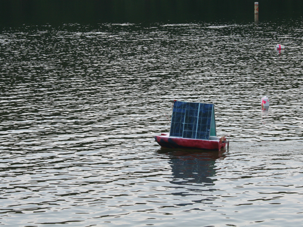 rc solar powered boat profile