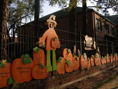 Carved EPS Foam Carnival Sponsor Wall