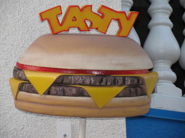 EPS Foam Hamburger Sculpture