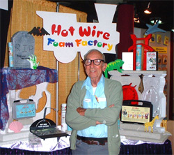 Tony Natal of Hot Wire Foam Factory