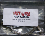 #006B4 - Four 4ft Bow Wires