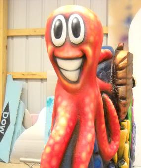 foam octopus