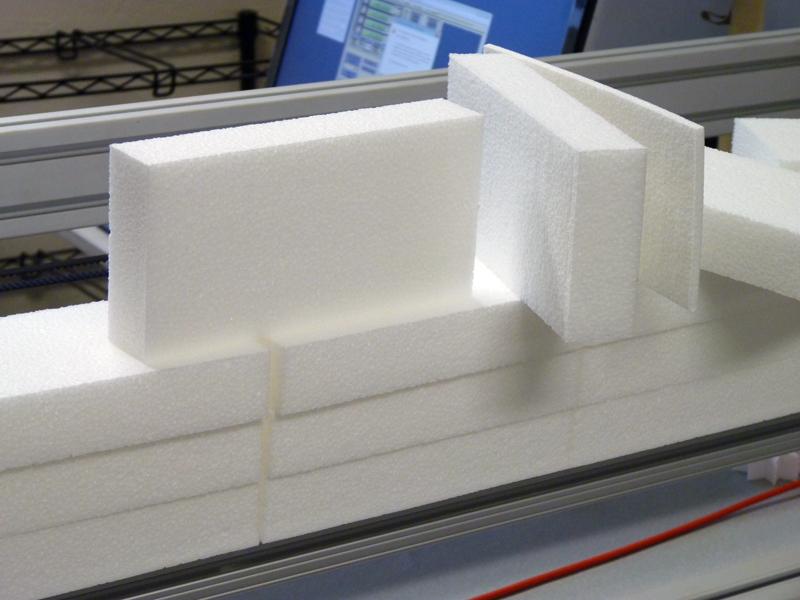 Production run of 8lb EPP foam.