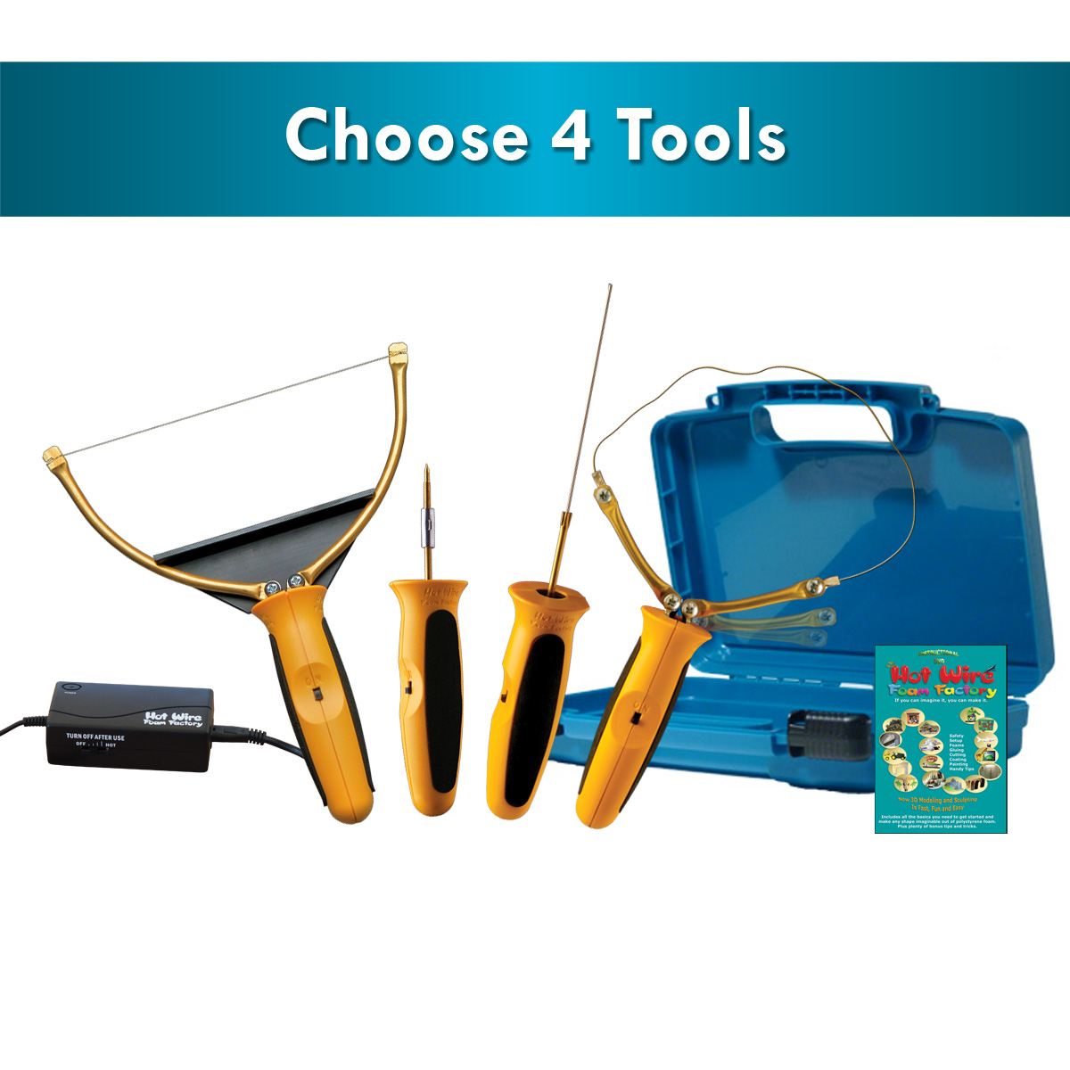 4-In-1 Pro Tool Kit - Hot...