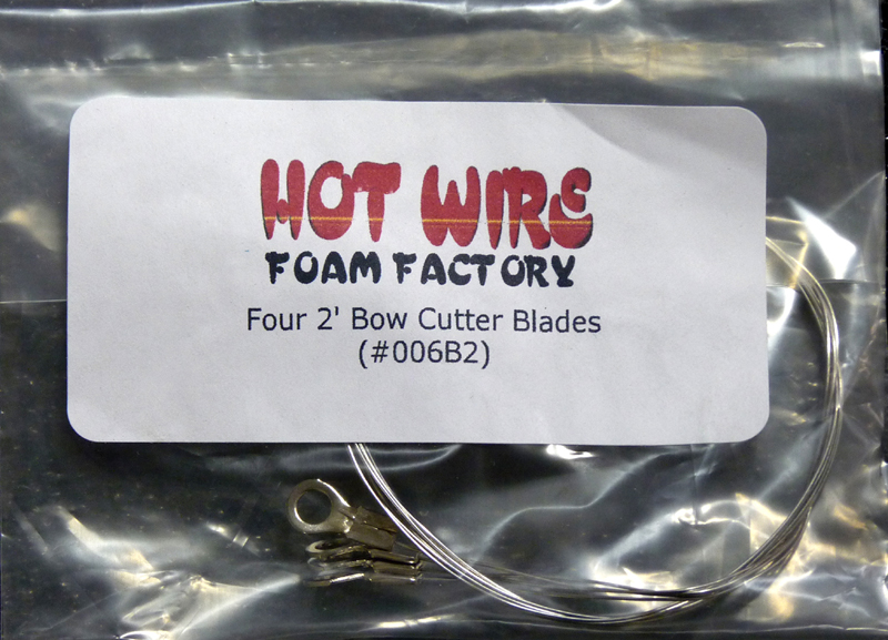 #006B2 - Four 2ft Bow Wires
