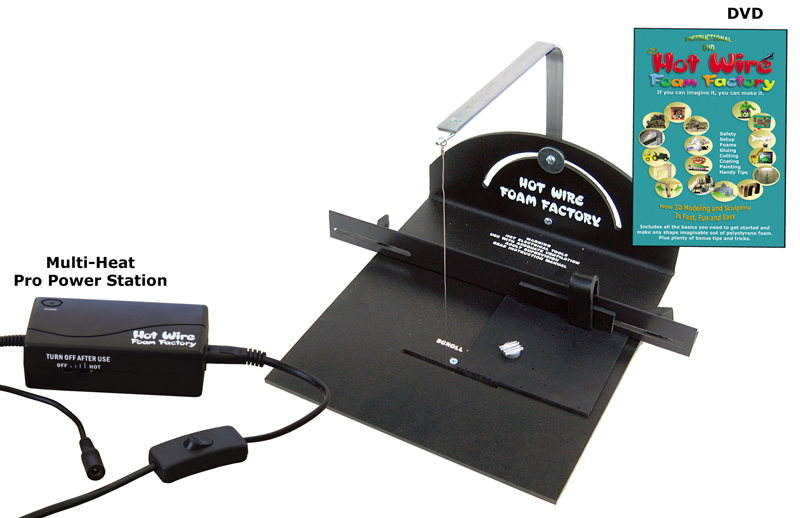 #K03P - Pro Scroll Table Kit with Multi-Heat Pro Power Station