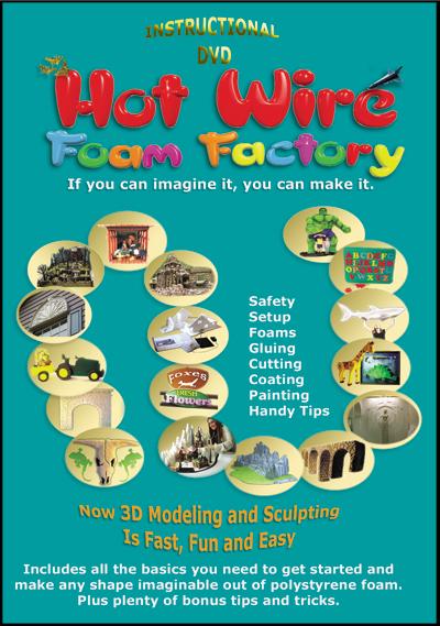 #009D - Hot Wire Foam Factory Instructional DVD