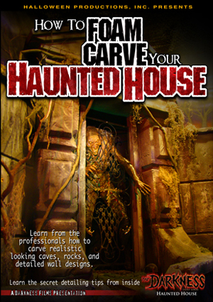 #009HH - How To Foam Carve Your Haunted House DVD
