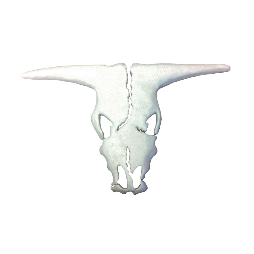 Free Cow Skull Pattern #P001