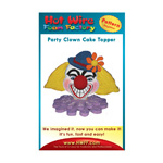 Party Clown Cake Topper Pattern #P005