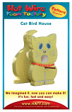 #P011 - Cat Bird House Pattern